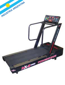 CINTA DE CORRER PARA GIMNASIOS MOTORIZADA POWERFORCE MX-3 plus