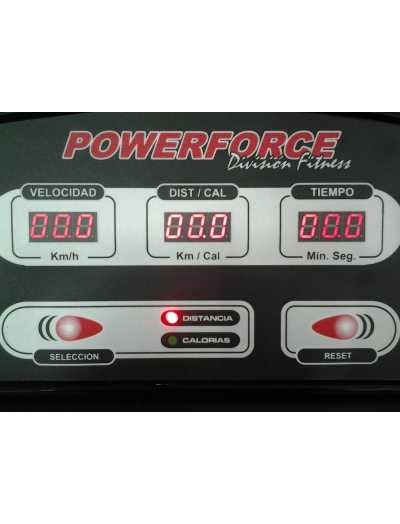 CINTA PARA CORRER Y CAMINAR ELECTRICA POWERFORCE MODELO HG-3 plus